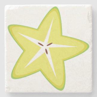Star Fruit Stone Coaster