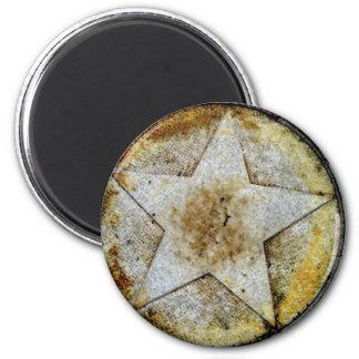 Star Gazer 6 Cm Round Magnet