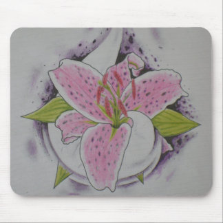 Star Gazer Lilly Mouse Pad