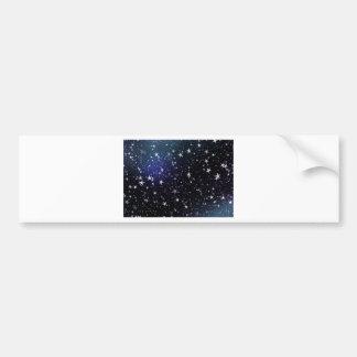 Star Gazer Nature Sky Space Peace Love Destiny Car Bumper Sticker
