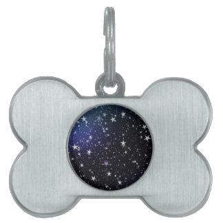 Star Gazer Nature Sky Space Peace Love Destiny Pet Name Tag