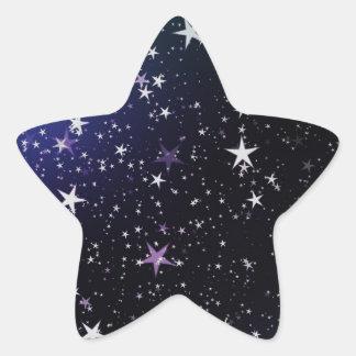 Star Gazer Nature Sky Space Peace Love Destiny Star Sticker