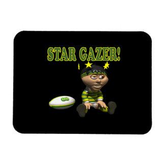 Star Gazer Rectangle Magnet