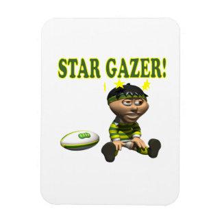 Star Gazer Rectangular Magnets