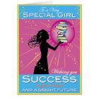 Star Girl Success Card