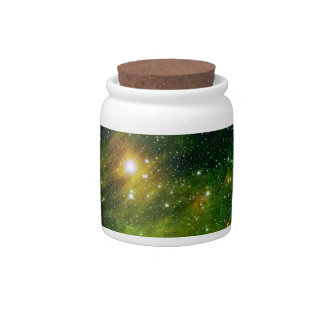 Star GL 490 Green Space NASA Candy Jar