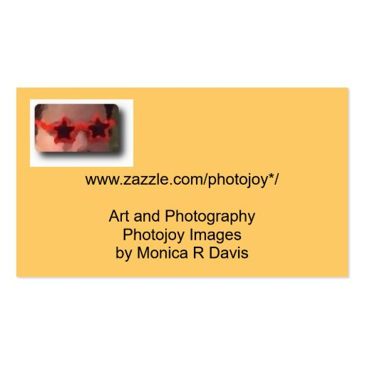 Star glasses website business cards zazzle for Zazzle business card