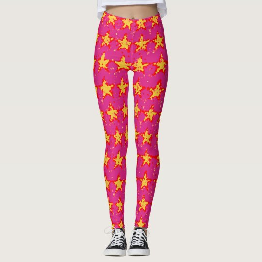 Star glimmer leggings