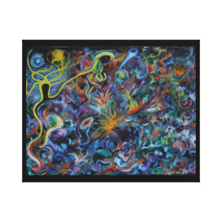 Star Goddess & Child - Tides of Passion Canvas Print