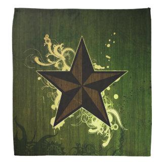 Star \ Green Bandana