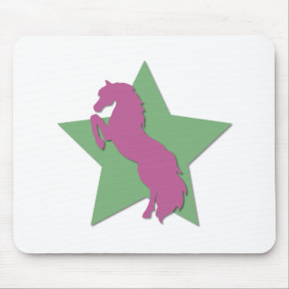 Star Horse Mouse Pad