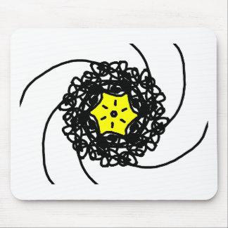 Star Illustration Mouse Pad