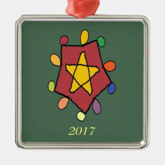 Star in Lights Christmas Ornament