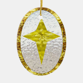 Star in Stained Glass Christmas Ornaments