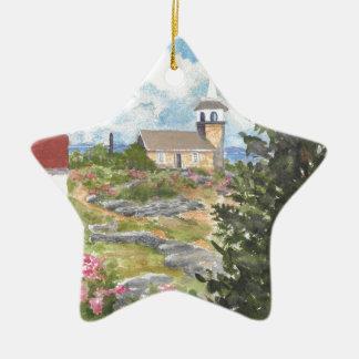 Star Island Isles of Shoals NH  Star Ornament