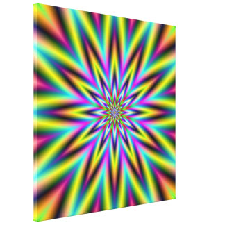 Star Jump Canvas Print
