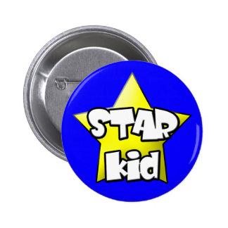 Star kid Button