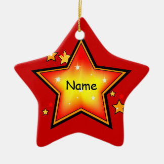 Star Kid Christmas Ornament