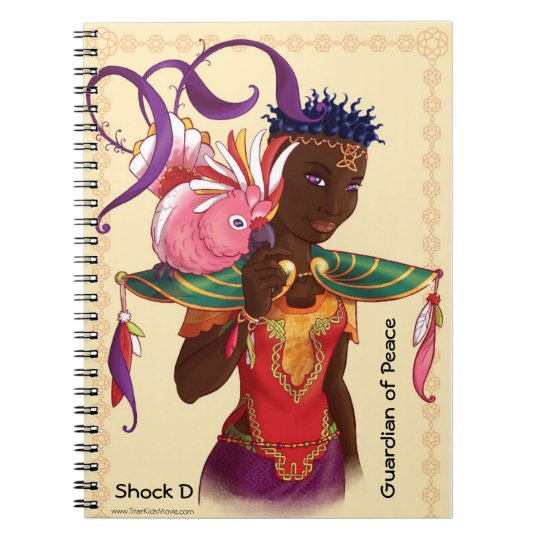 Star Kids Shock D Spiral Journal