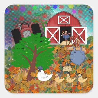 Star Light Farms Square Sticker