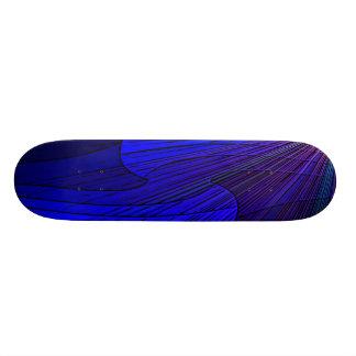Star light geometic design skateboard