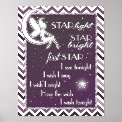 Star Light Star Bright Nursery Sign