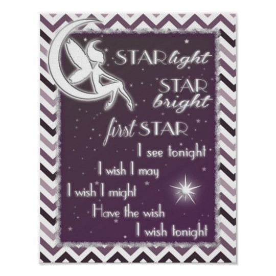 Star Light Star Bright Nursery Sign