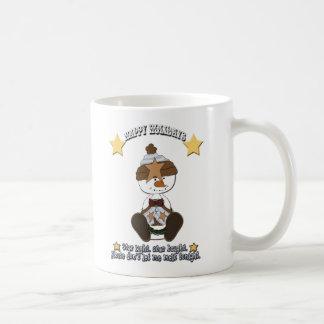 Star Light Star Bright Snowman Holiday Cup Basic White Mug