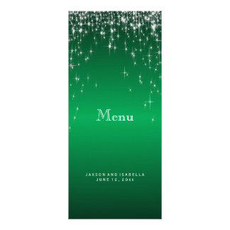 Star Lights in Green - Menu
