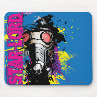 Star-Lord Paint Splatter Graphic Mousepad