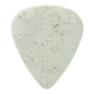 Star map 2 acetal guitar pick