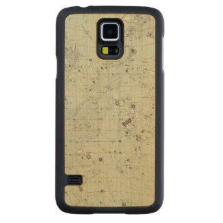 Star map 2 carved maple galaxy s5 case