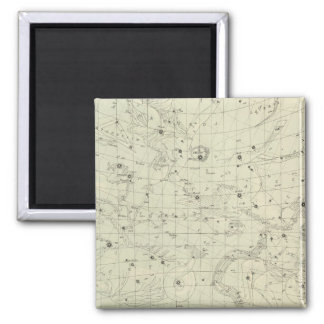 Star map 2 square magnet