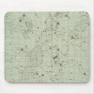 Star map mouse pad
