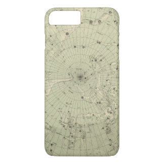 Star map of North polar region iPhone 8 Plus/7 Plus Case