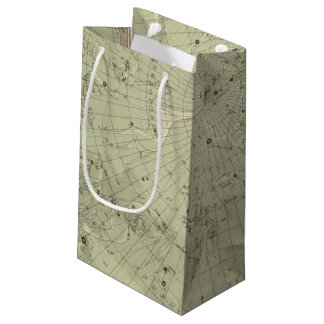 Star map of North polar region Small Gift Bag