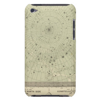 Star map of South polar region Barely There iPod Covers