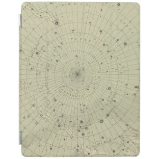 Star map of South polar region iPad Cover