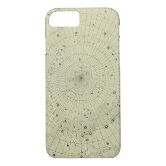 Star map of South polar region iPhone 8/7 Case