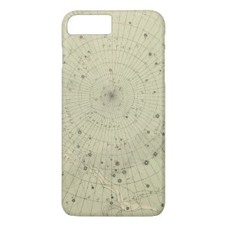Star map of South polar region iPhone 8 Plus/7 Plus Case