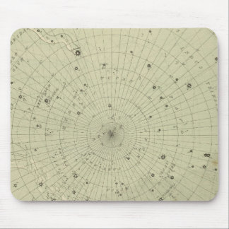 Star map of South polar region Mouse Pad