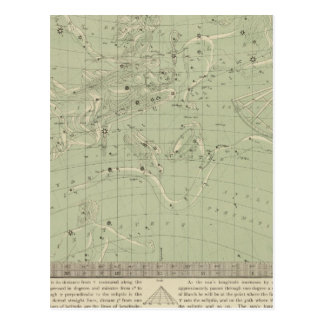 Star map post cards