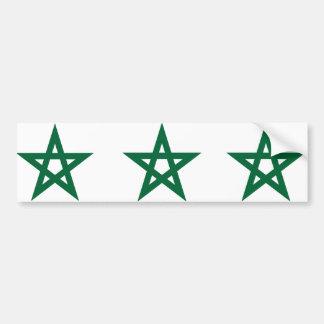 Star Morocco, Morocco Bumper Sticker