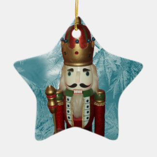 Star Nutcracker Ornament