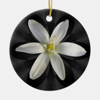 Star of Bethlehem flower ~ ornament