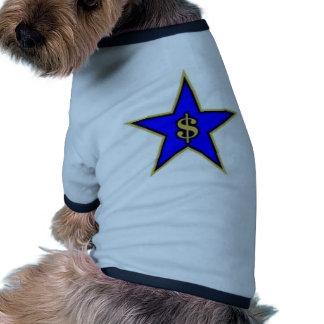 Star of Capitalism Dog T Shirt
