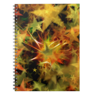 Star of Christmas Note Books