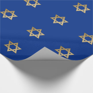Star of David Design Gift Wrapping Paper