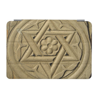 Star Of David Engraved In Stone - Judaism iPad Mini Cover