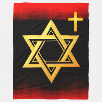 Star of David Fleece Blanket
